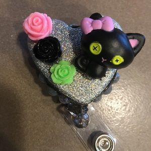 Lalaloopsy Cat badge reel